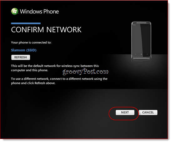 Cómo sincronizar de forma inalámbrica su Windows Phone 7 con Zune